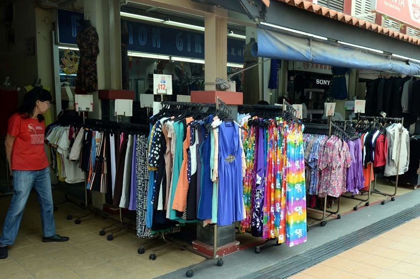 A clothes shop in Toa Payoh Central. HDB said on May 9 that the upgrading budget for each shop will be increased, under the Revealing enhancements to the Revitalisation of Shops scheme.
