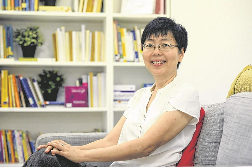 Newly-appointed president of Aware and former The Business Times journalist, Teh Hooi Ling.