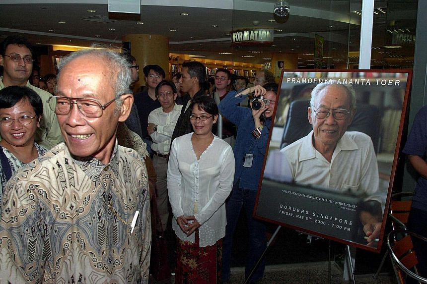 Pramoedya Ananta Toer (foreground), a novelist from Indonesia has come close to winning the Nobel Prize in Literature before his passing in 2006.