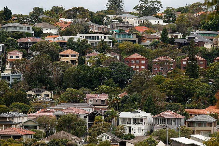 A Sydney suburb. Foreign investment in Australian property has soared in recent years, fuelling public concerns that foreign buyers are squeezing out local buyers and making housing unaffordable. Home prices in Australia rose 7 per cent last year.