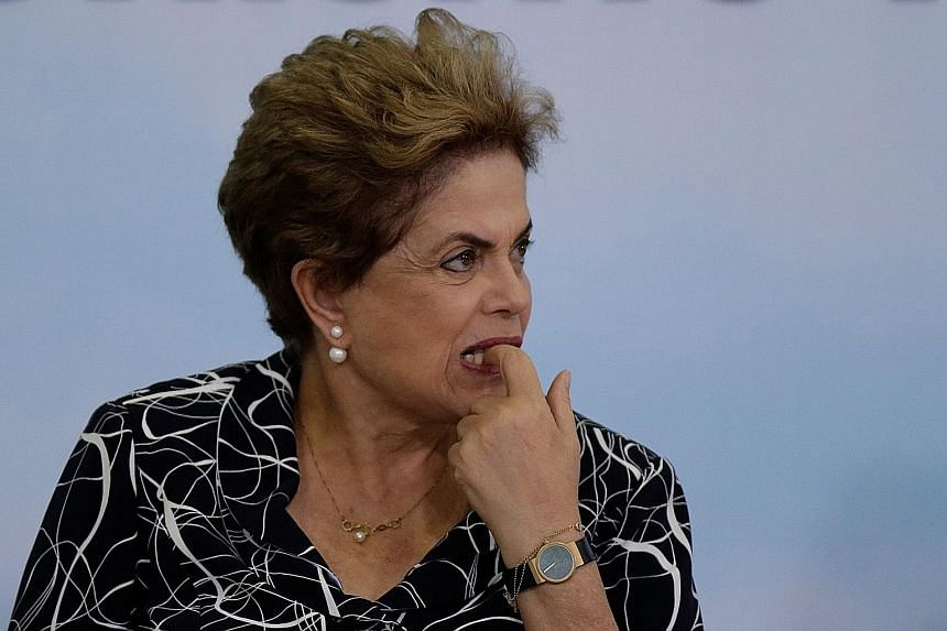 The Lower House voted last month by an overwhelming majority to send Ms Rousseff's case to the Senate for trial. The Senate was due to start its own voting process tomorrow, with a majority expected to vote for Ms Rousseff to be suspended.