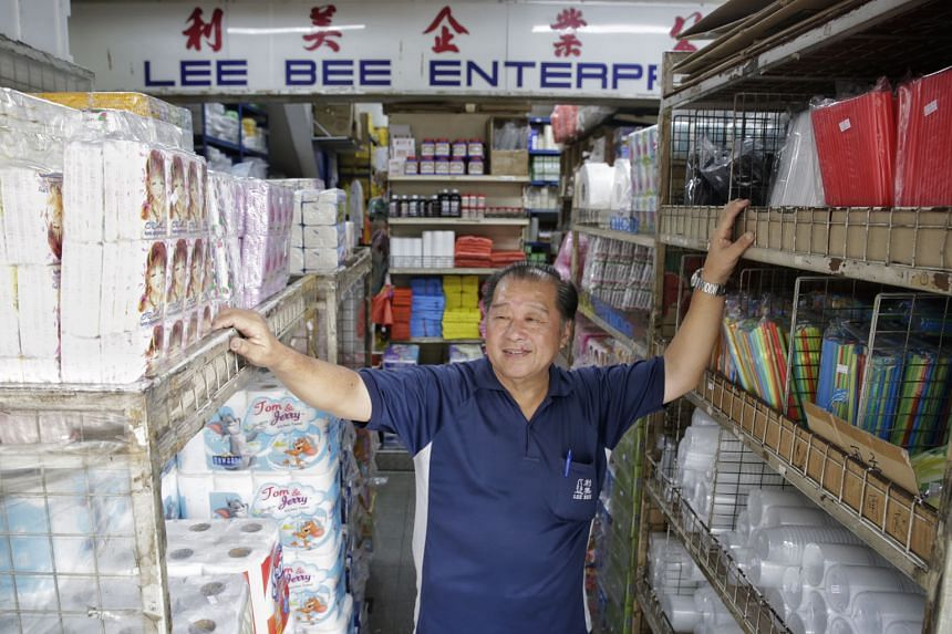 Mr Ong, of Lee Bee Enterprises in Jurong West, said he got new flooring in front of his shop and an automatic awning that is easier to use under the scheme. His neighbourhood underwent upgrading from 2013 to 2014.