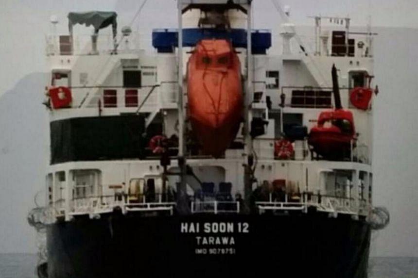 The MV Hai Soon 12.