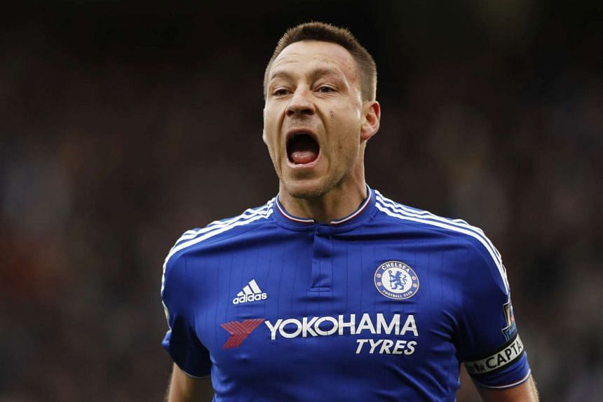 Terry will be suspended for the final two Premier League games of the season after being sent off against Sunderland.