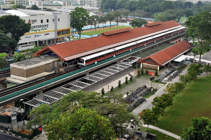 SMRT has said in a tweet that there is no train service between Yishun and Yio Chu Kang MRT stations.