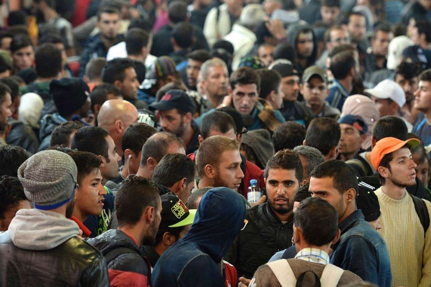 German authorities are investigating 40 cases in which Islamic militants are suspected of having entered the country with the recent flood of refugees from the Middle East.