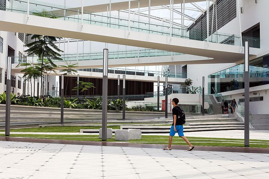 The University of Reading is one of several foreign education institutions in EduCity, which has become a popular destination for institutions looking to gain a foothold in Asia.