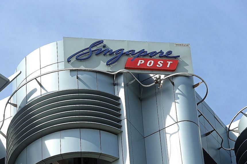 Underlying net profit at SingPost in the three months ended March 31 fell 20.1 per cent to $31.8 million, due mainly to a fall in rental income as redevelopment of the Singapore Post Centre mall commenced in the third quarter.
