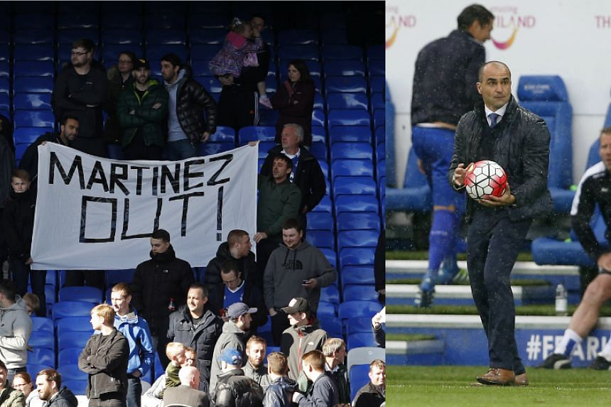 Beleaguered manager Roberto Martinez insisted his Everton players have full confidence in him.