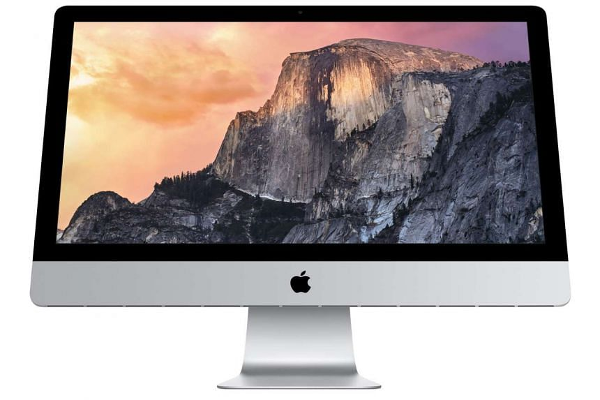 The Apple iMac with 5K Retina display (above) is one of the last-minute deals you can grab at a special price at Funan.