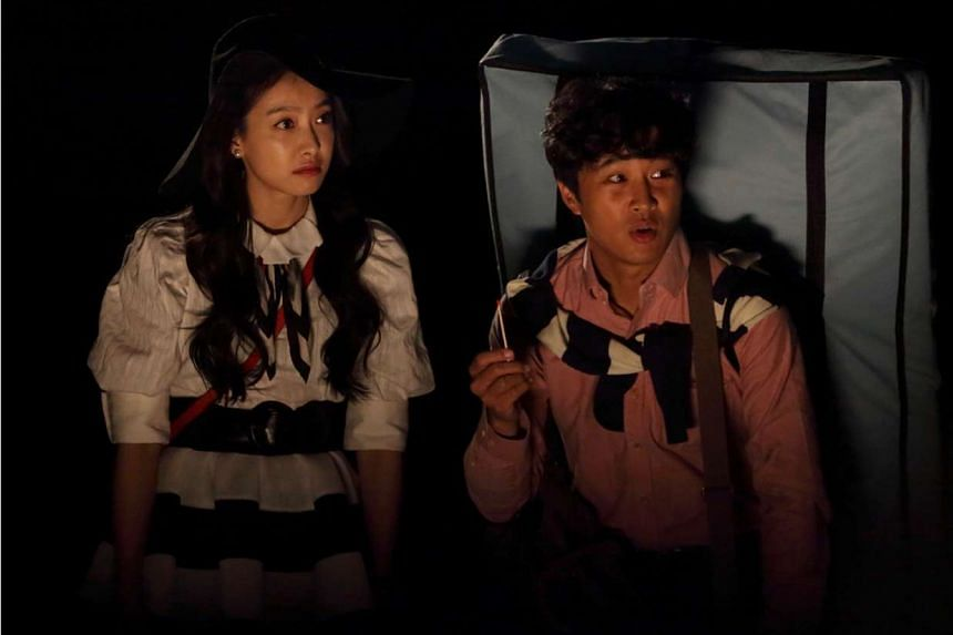 Victoria Song and Cha Tae Hyun (both above) star in My New Sassy Girl.