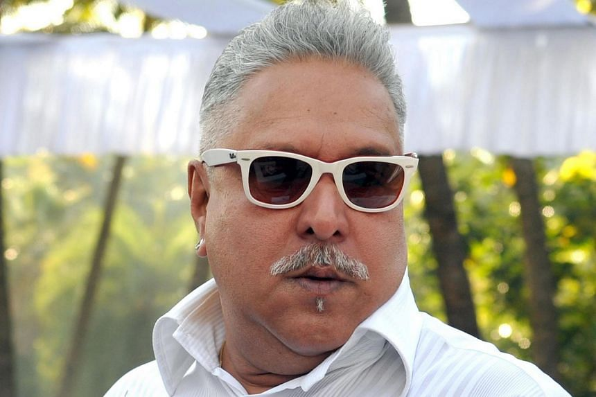 Vijay Mallya attends the launch of the Kingfisher 2014 calendar in Mumbai.