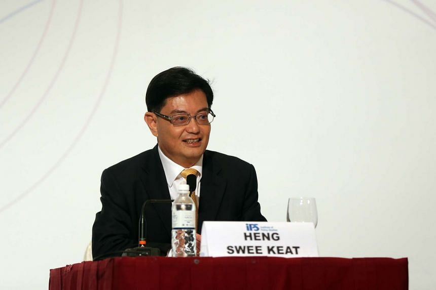 Minister for Finance Heng Swee Keat suffered a stroke during a weekly Cabinet meeting on Thursday (May 12).