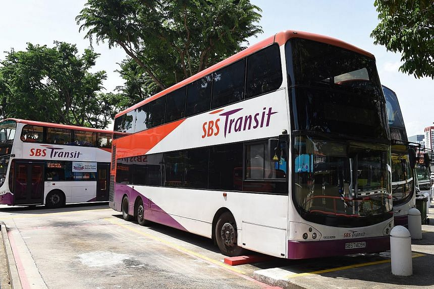 SBS Transit expects its bus revenue to be affected, given that bus routes in the Bulim and Loyang areas have been clinched by foreign firms. But rail revenue is expected to grow with higher ridership from Downtown Line 2.