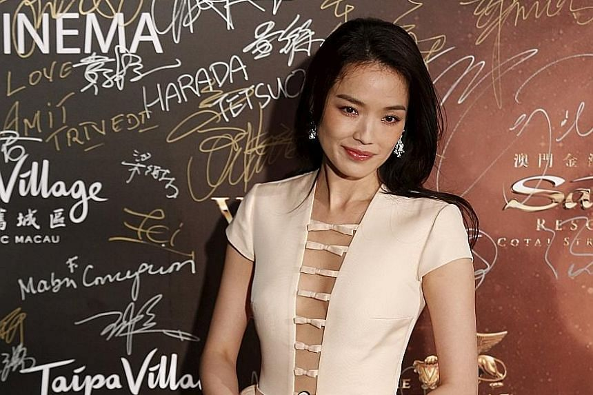 Want lips like Taiwan actress Shu Qi's? Try applying lip gloss from the centre of the lips then spreading it outwards.