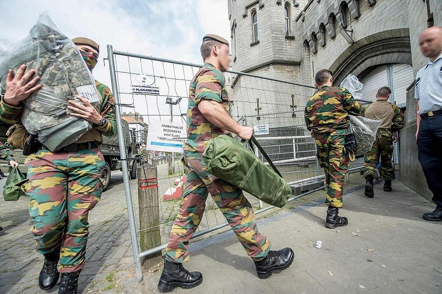 Belgium made a controversial decision on May 9 to call in the army to fill in for striking prison staff to take care of inmates' needs. The strike began over staffing levels at 17 prisons in the French- speaking region of Wallonia and Brussels.