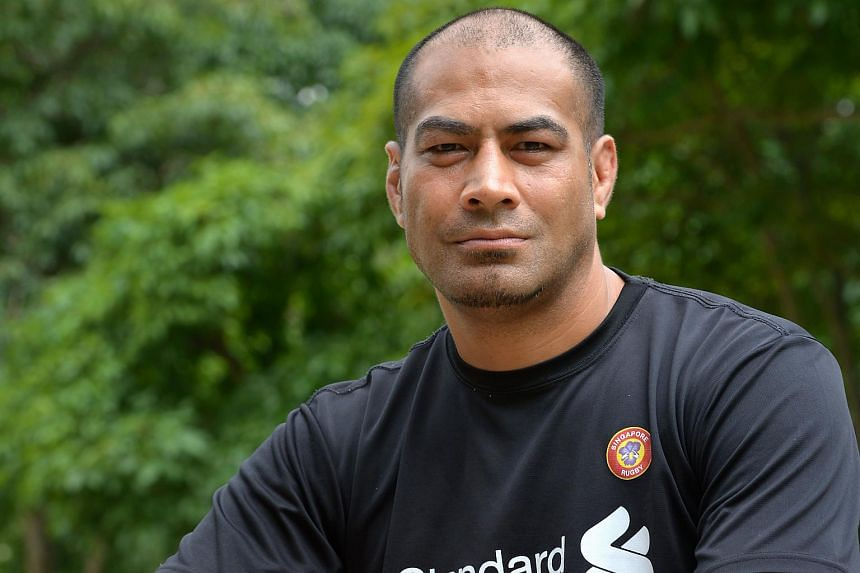 Mr Inoke Afeaki, coach for Singapore national rugby team.