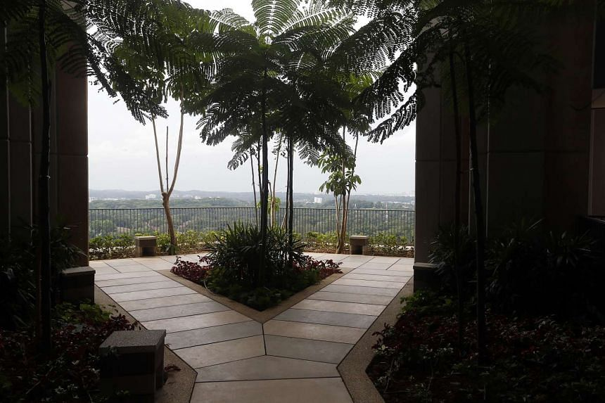 Sky gardens at SkyVille@Dawson, a Build-To-Order (BTO) project by HDB.