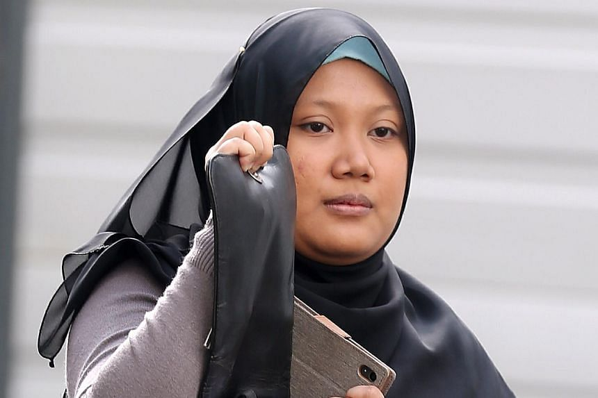 Siti Ainah Maduri, 24, was fined $4,000 and banned for driving for two years for causing the death of 83-year-old Madam Chan Poh Quan.
