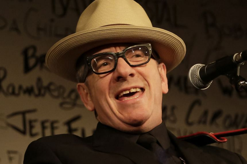 Elvis Costello.