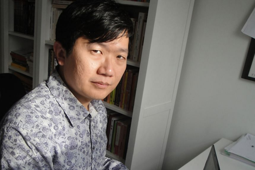The writers in the running for the English fiction category are Sonny Liew, Mohamed Latiff Mohamed, Jeremy Tiang (above), Leonora Liow and Audrey Chin.