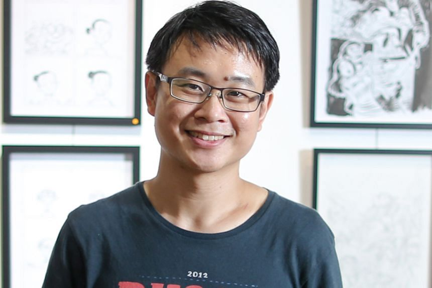 The writers in the running for the English fiction category are Sonny Liew (above), Mohamed Latiff Mohamed, Jeremy Tiang, Leonora Liow and Audrey Chin.
