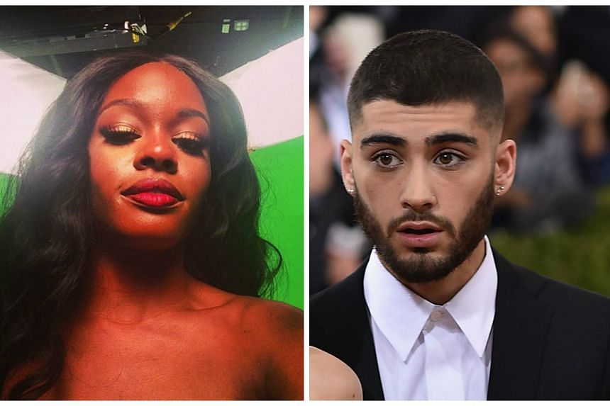 Banks (left) accused Zayn (right) of copying her style on his latest video Like I Would and grew more agitated after he did not respond.