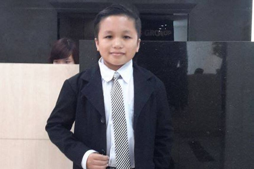 Mr Nguyen Tan Phat, 22, was the man that British baroness Michelle Mone had carried earlier.