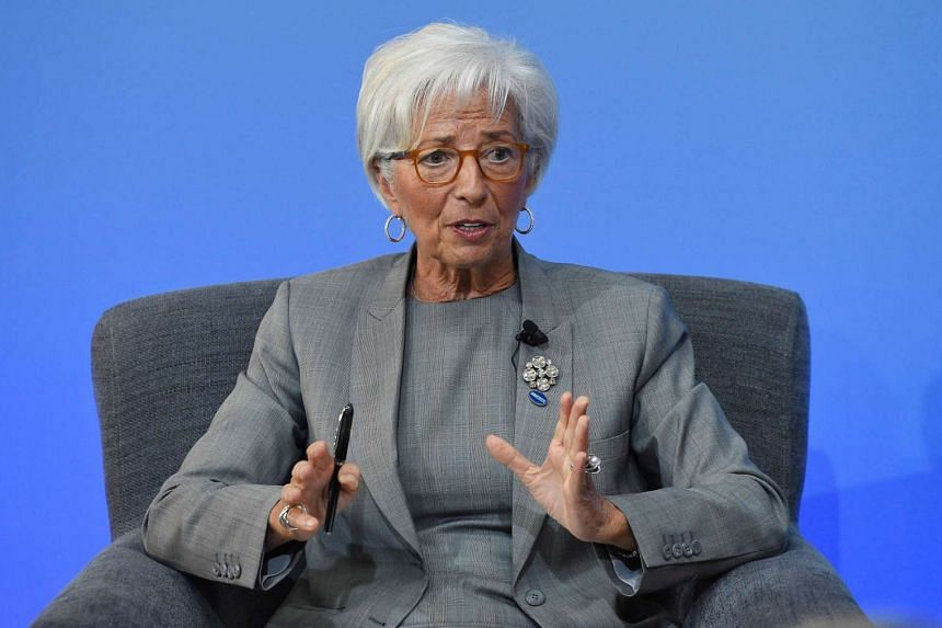 International Monetary Fund (IMF) Managing Director Christine Lagarde speaks during a panel discussion during the Anti-Corruption Summit London 2016, in London, on May 12, 2016.