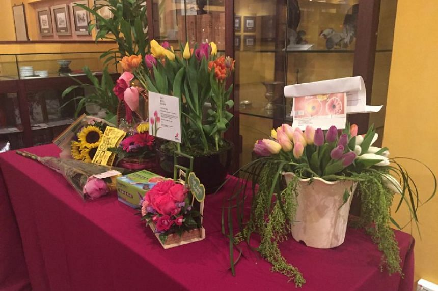 More flowers were seen at TTSH Heritage Centre on Friday afternoon.