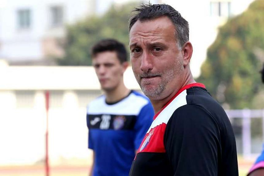 Warriors FC coach Jorg Steinebrunner will be stepping down after a string of mediocre performances.