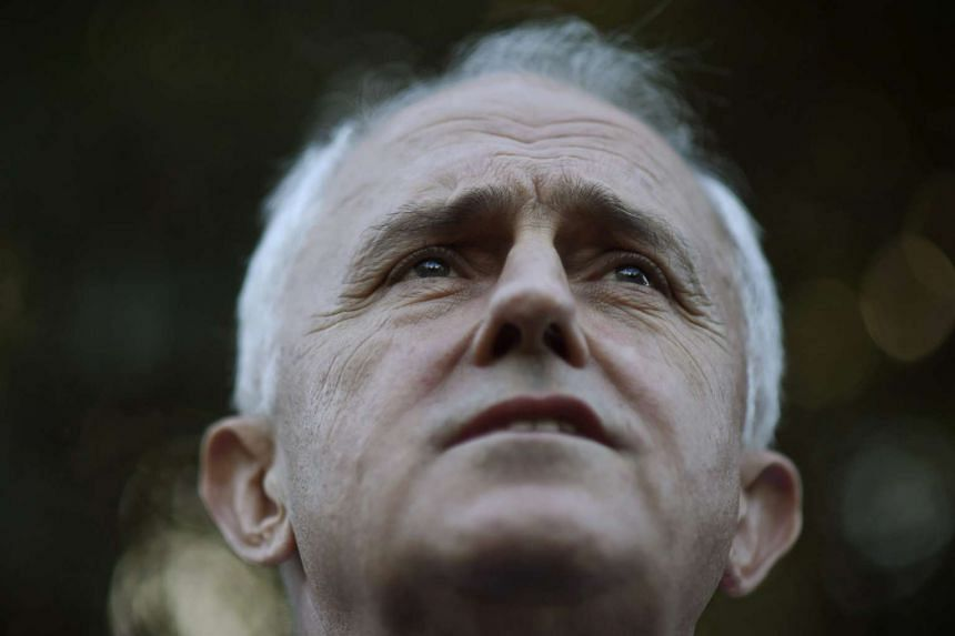 Australian Prime Minister Malcolm Turnbull at a press conference in Sydney, Australia, on May 14, 2016.