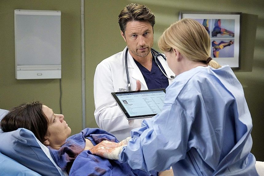 Martin Henderson is Dr Nathan Riggs in Grey's Anatomy.
