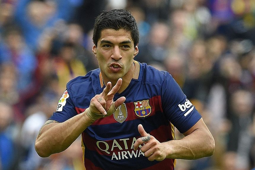 Barcelona's Luis Suarez admitted that the team had no explanation for their recent slump but was glad that they are still in control of their own destiny.