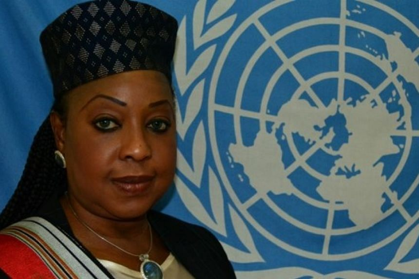 Samoura, 54, comes from outside the football world, having worked with the United Nations for 21 years.