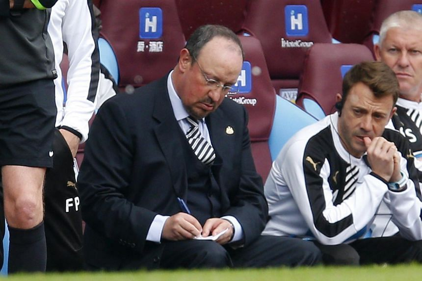 For Newcastle's interim manager Rafael Benitez, the question is whether to continue staying with the club or leave.
