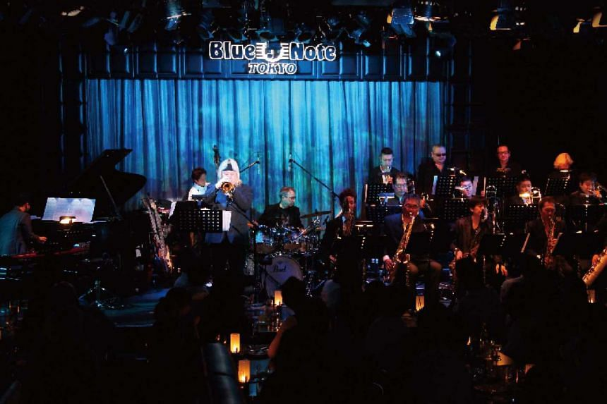 Eric Miyashiro is the music director of the Blue Note Tokyo All-Star Jazz Orchestra (above).