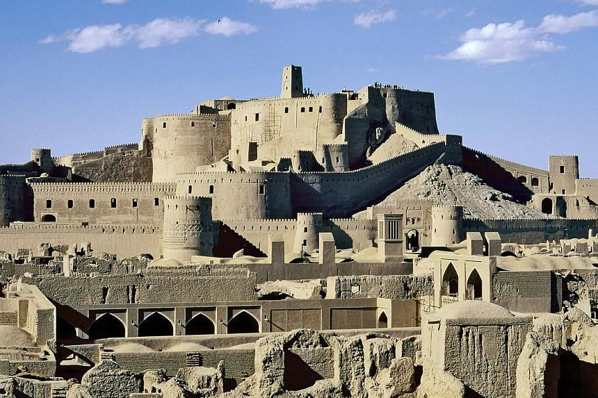 The fortress of Bam, a Unesco World Heritage Site, is included in Paveway Explorer's Persian Explorer itinerary for a rail journey through Iran.