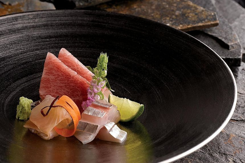 Next week's prize is a dinner for nine at Shinji by Kanesaka at Raffles Hotel worth $10,000.