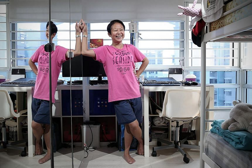 Ms Goh, 46, struggled to stay free of drugs and alcohol, despite a stint at a halfway house and three detoxification programmes, but succeeded only after a stay at transitional shelter iCare Hub. More than 20 women completed stays at the facility las