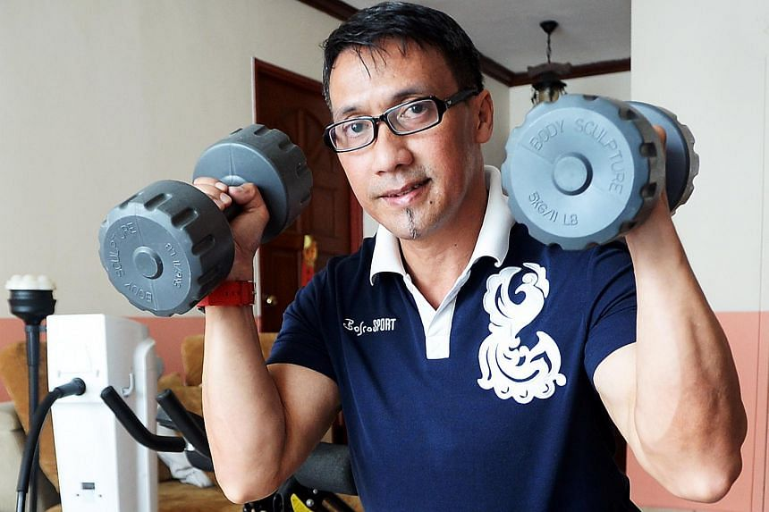Mr Rano, who suffered a stroke in 2014, has been rebuilding his life through exercise, a healthy diet, acupuncture and a never-say-die attitude.