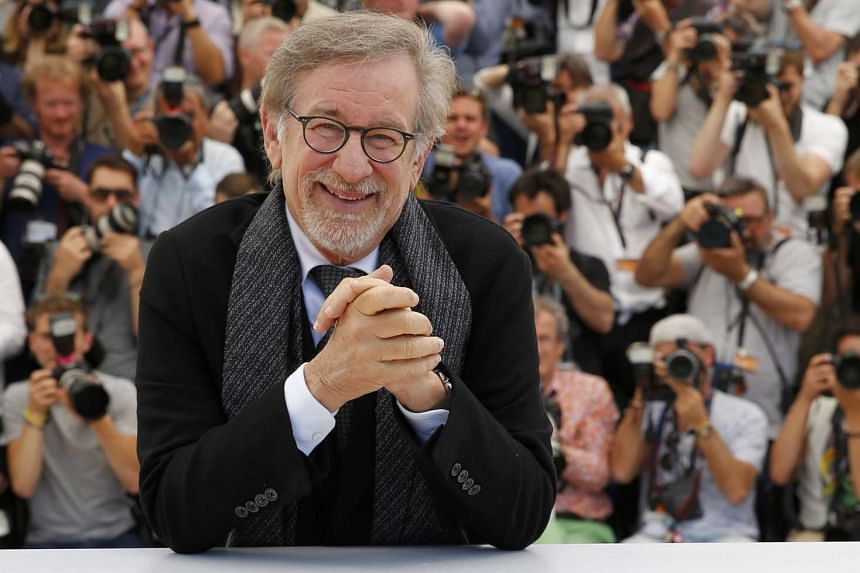 The speedboat had earlier buzzed the yacht of Hollywood legend Steven Spielberg (above).