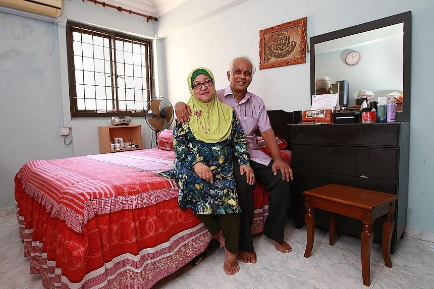 Mr Abdul Rahman and his wife, Madam Samah, sold back 46 years of the lease on their four-room flat in Jurong West to the Housing Board for about $144,000.