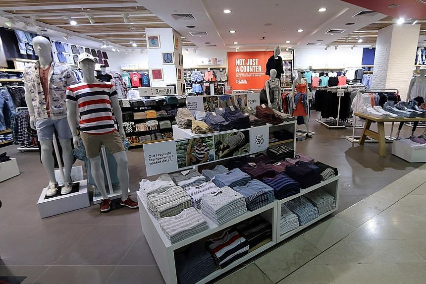 The refurbished Cotton On store at Wisma Atria reopened last month. It now has a more open store frontage.