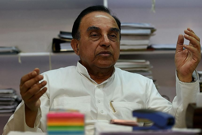 Mr Swamy has upset Muslims in India by saying they should not get to vote unless they acknowledge their Hindu ancestry.