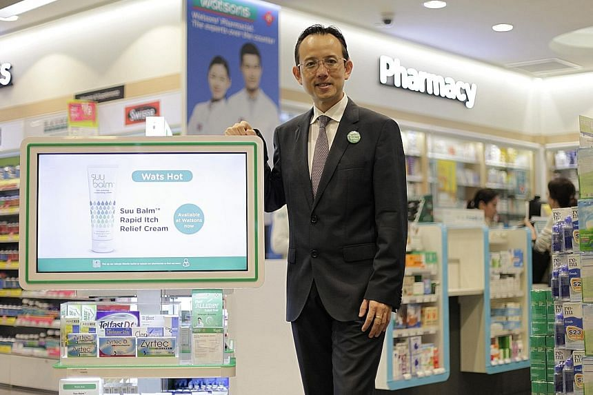 Watsons COO Dominic Wong is not deterred by having fewer stores and pharmacies than health retail giant Guardian. He says third-party research shows that Watsons leads in health sales per store.