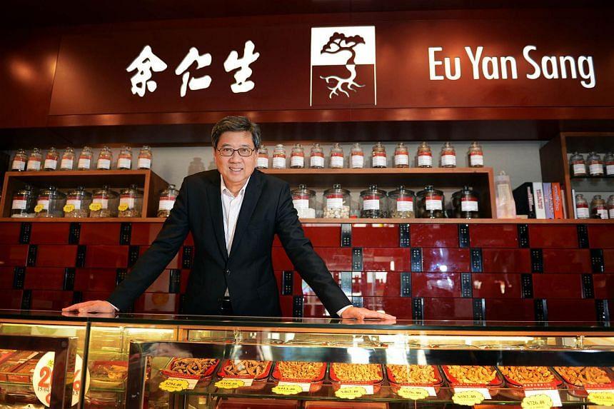 Group CEO of Eu Yan Sang International Richard Eu.