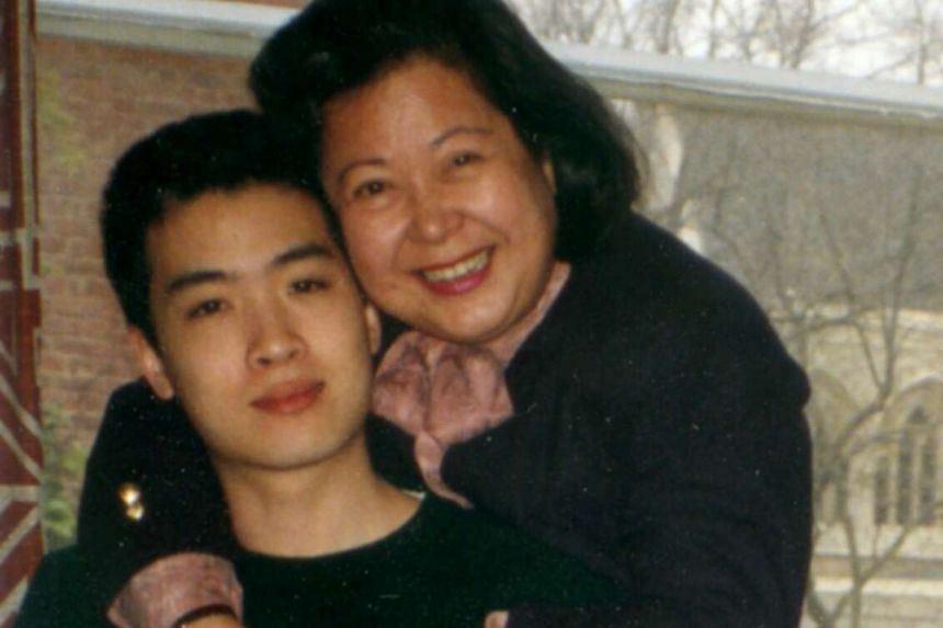 My Life So Far: Backpacking in Tibet in May 1986 when he was a student of the Beijing Language and Culture University, and with his mother, Elizabeth Lee (above), in London in 1990.