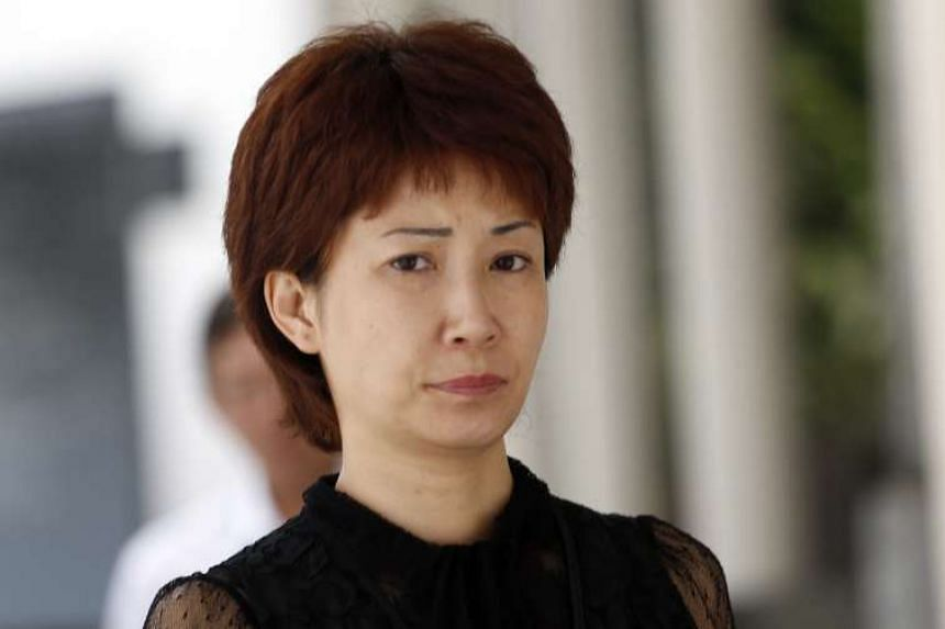 Alleged match-fixing kingpin Dan Tan Seet Eng's former wife, Guan Enmei (above) purportedly lied to graft investigators about taking his two computers out of their home.