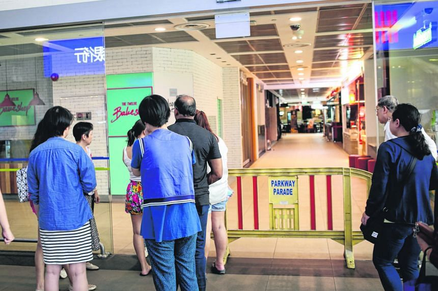 While the retail mall and carpark remain closed, the office tower and banks on level one will be open. After the SCDF was alerted to the fire at the mall, its officers located the blaze in a storeroom and put out the flames with a water jet. There we